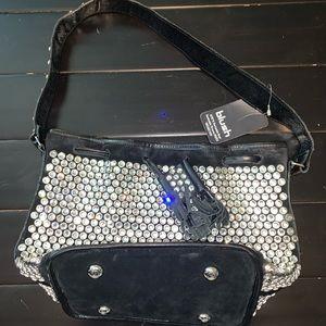 swarovski purse/ designer handbag